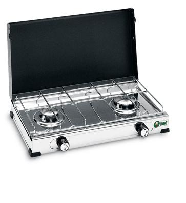 Cocina 2 Fuegos Inoxidable Mod 2012 Bst.