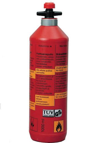 1 L, Aluminio Rojo Botella de Combustible Ultraligera Primus