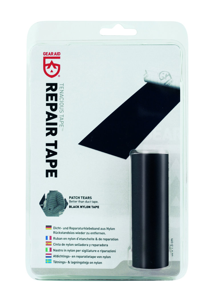 McNett Seal & repair tape Sage Black 'Tenacious' 50 cm x 7,6 cm, clear